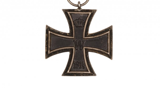 """25. februar 1917 – C. Brodersen: """"… hvorfor jeg fik Jernkorset"""""""