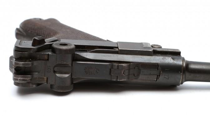Fra samlingerne: Pistole Modell 1904