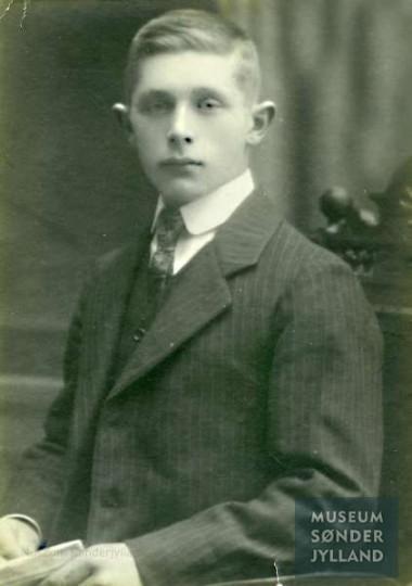 Peter Grau (1895-1917) Blans, Ullerup