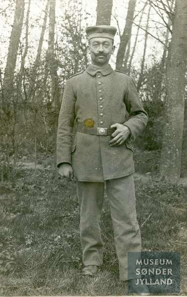 Jacob Hansen (1886-1917) Egernsund, Broager
