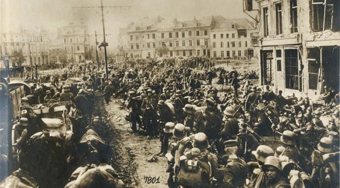 """20. marts 1917. """"Fjenden planlægger et gennembrud."""""""