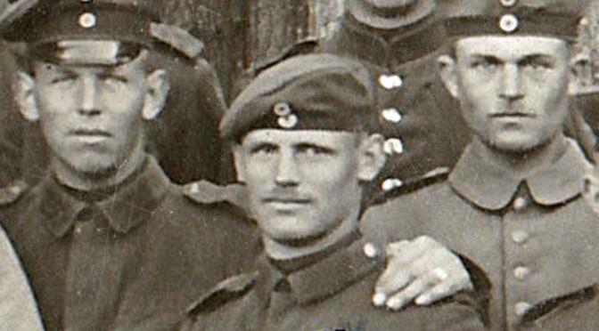 """20. august 1917. Gefreiter Andersen er """"Pille-triller"""""""
