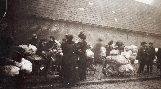 "11. april 1917. Ved Arras: ""Livsmodet var brudt, enhver vilde vel være glad for en barmhjertig Kugle"""