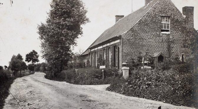 """19. maj 1917 – Claus Eskildsen: """"Flandern er en Edens Have"""""""