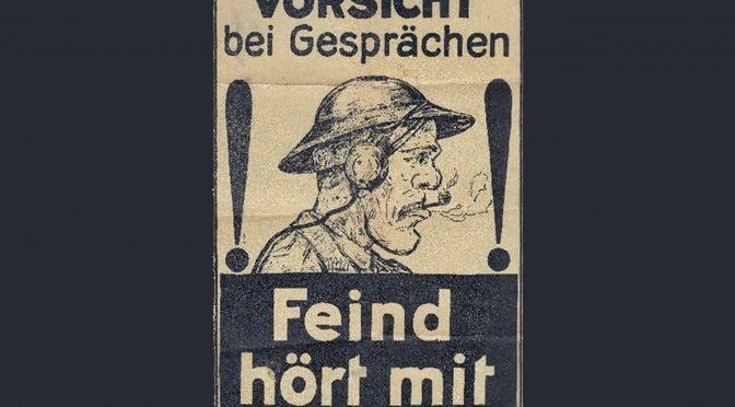 31. marts 1917. Spionage ved Vimy