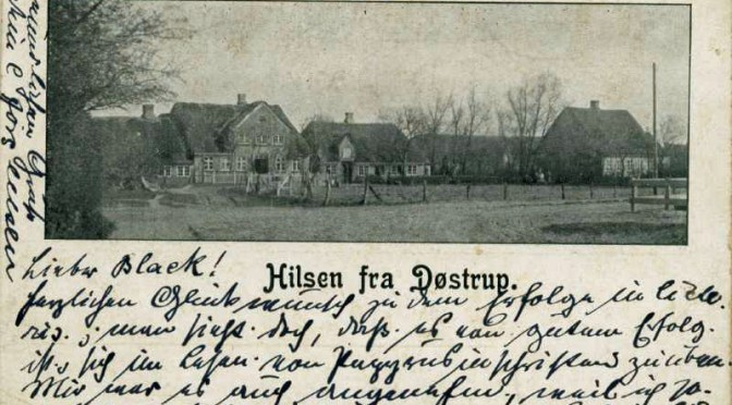 """9. marts 1917. Desertøren Peter Madsen kommer til """"tysk Sibirien"""" – dvs. Døstrup!"""