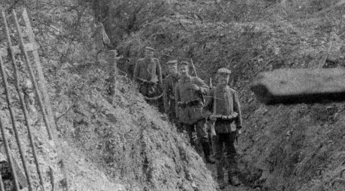"10. august 1917 – Paul Paulsen: ""…  Igaar tromlede Englænderne hele Dagen"""