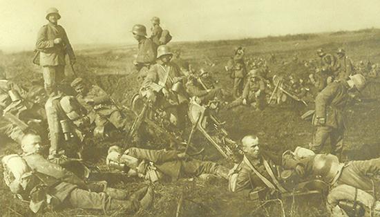 18. april 1917: Johannes Christensen: Om morgenen 18. april var der pludselig alarm