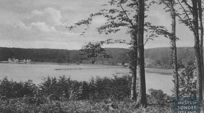 8. maj 1917. Overnatning i fri luft ved Kobbermølle