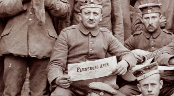 20. januar 1918 – Flensborg Avis: Manden i Brønden