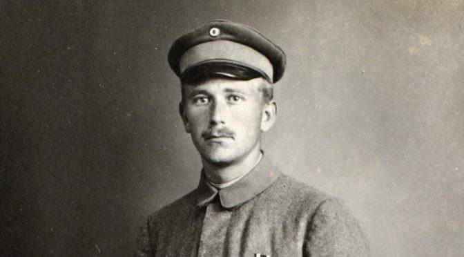 "20. juli 1917 – Peter Andresen: ""jeg har faaet mig Pfotograferet"""