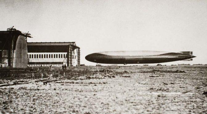 12. marts 1918 – Tønder Luftskibsbase: Langfart