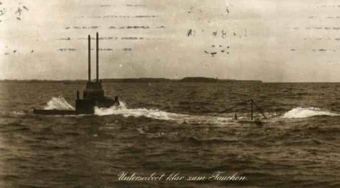 18. juli 1917. Fanget i dybet – UE19 kan ikke komme op!