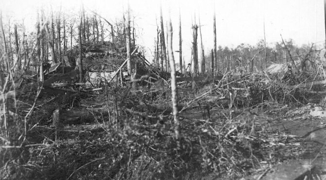 17. september 1917. Regiment 86 ankommer til fronten i Flandern