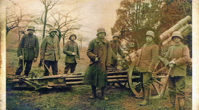 2. marts 1918: Den vanskelige afsked – Frederik Tychsen og hans batteri rejser fra Liége.