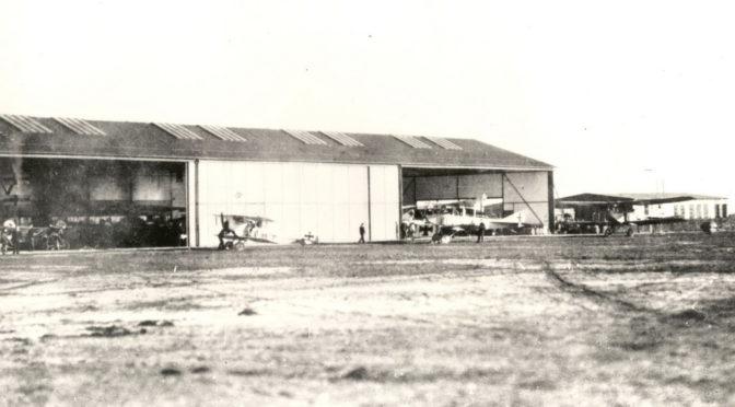 14. januar 1918 – Tønder Luftskibsbase: Ødelagt propel