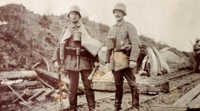 """6. november 1917 – Niels Petersen: Møde med danske officerer – """"slet it´ saa pytte"""""""