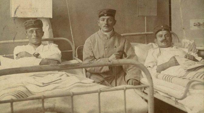 7. december 1917 – Hans Dahl: Paa Lazaret