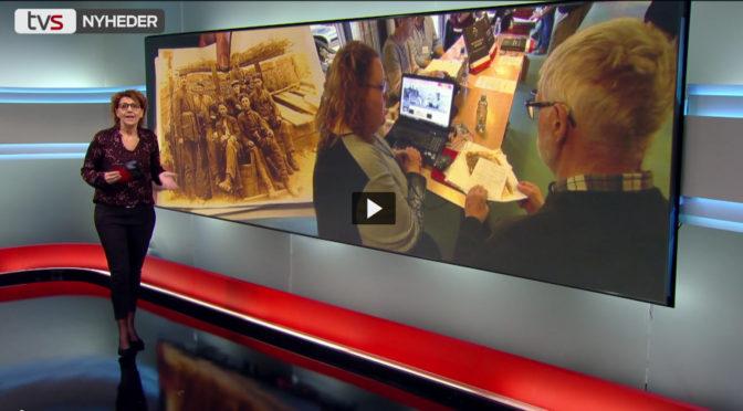 TVSYD besøgte Den store Krigs stand ved slægtsforskermessen i Aabenraa