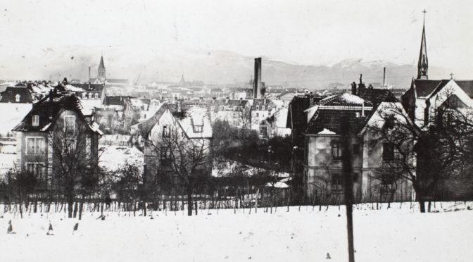 """28. januar 1918. Füsilier-Regiment """"Königin"""" og damerne i Elsass"""