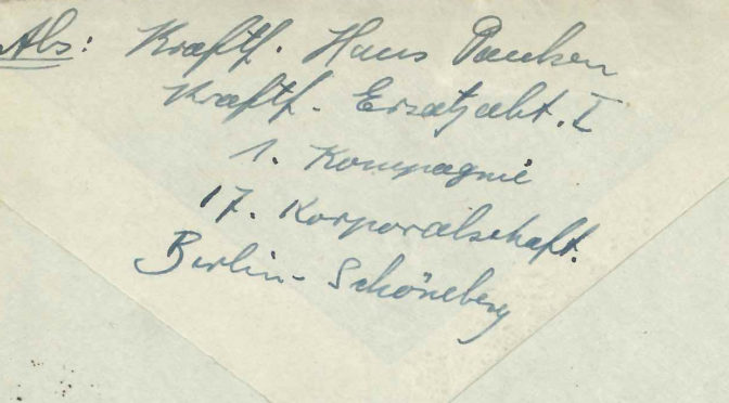 """10. januar 1918 – Hans Paulsen: """"…. en ubehagelig stram Ventetid"""""""