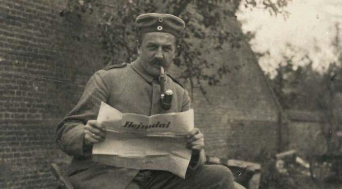 14. december 1917 – Hejmdal: Julehilsner fra fronten