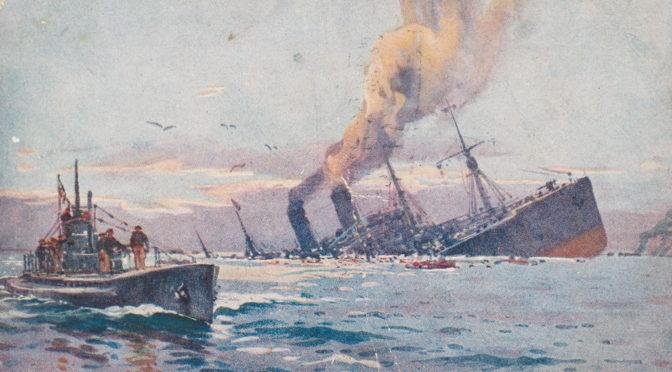 20. februar 1918 – Max Valentiner opbringer græsk damper