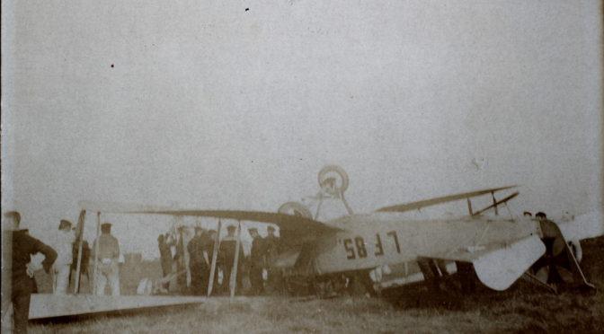 14. februar – Tønder Luftskibsbase: Kolbøtter ved landing