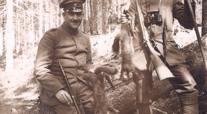 3. februar 1918. Svingende forplejning: Frasortere ærter og fasaner