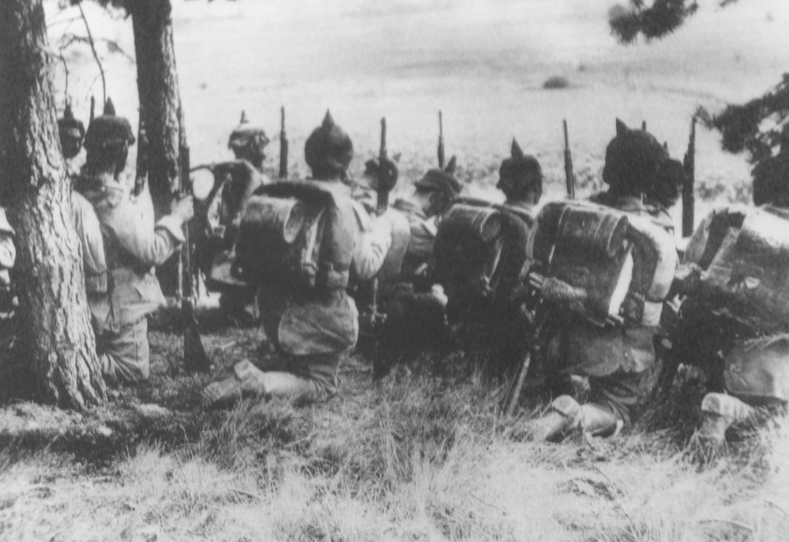 2. august 1914. Tyske tropper besætter Luxemburg. Ultimatum til Belgien.