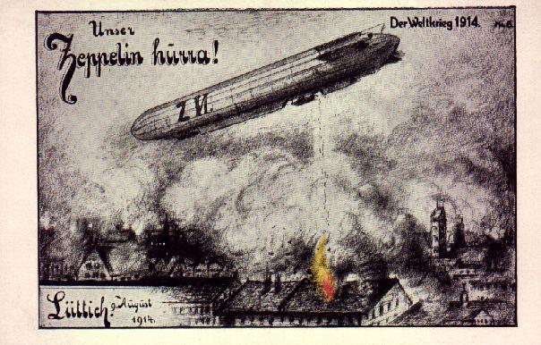 21. marts 1915 – Luftskibshal i Tønder færdig