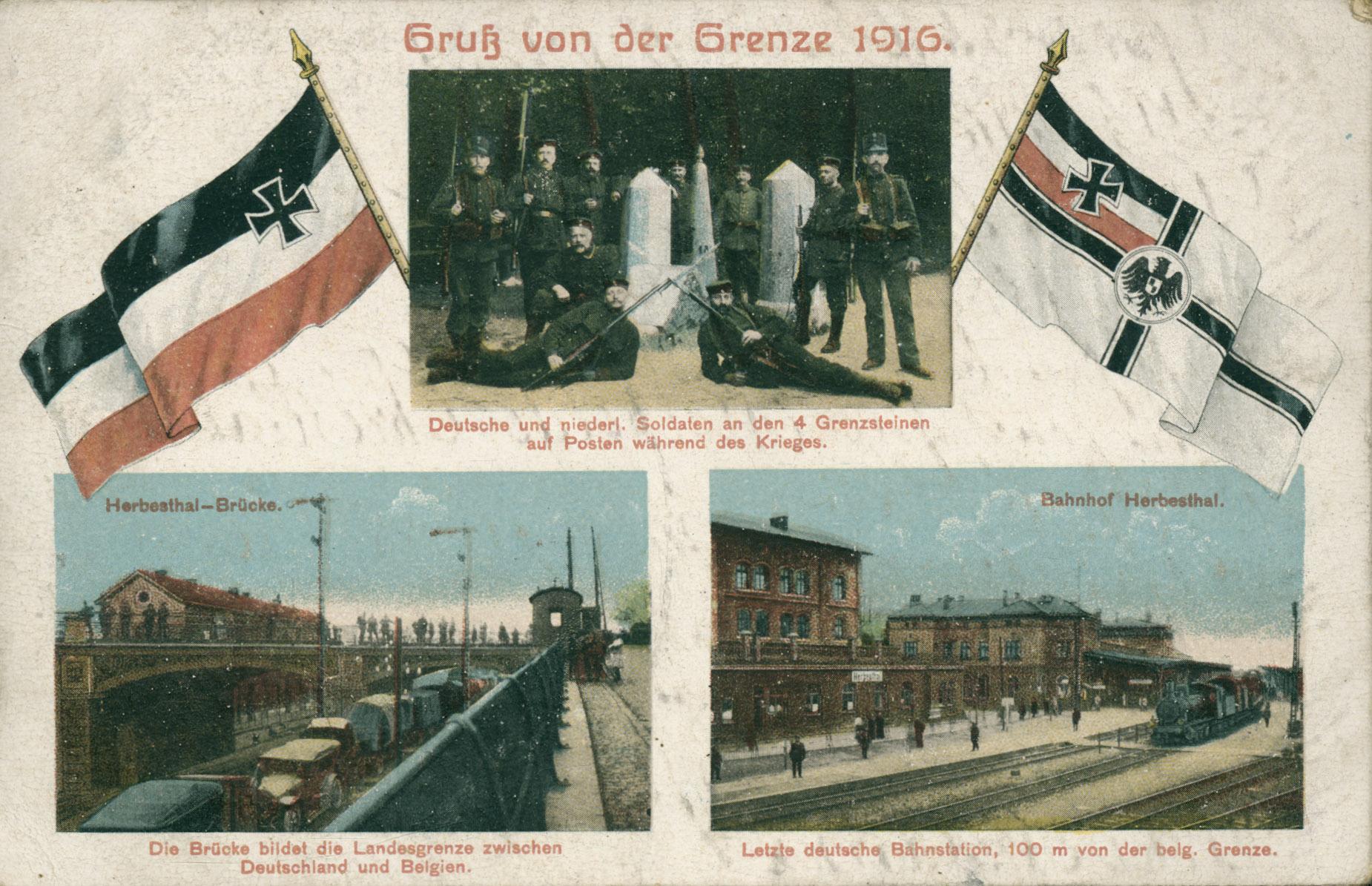 9. august 1914. 84'erne i Aachen