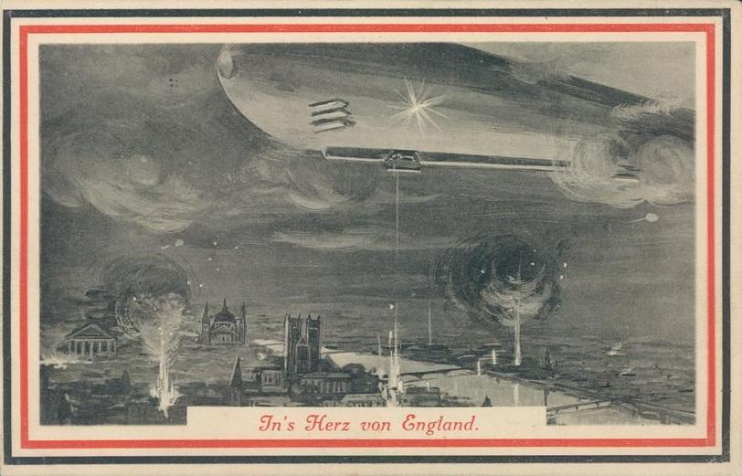 29. marts 1915. Ny fangelejr ved Øster Terp. Zeppeliner til basen i Tønder