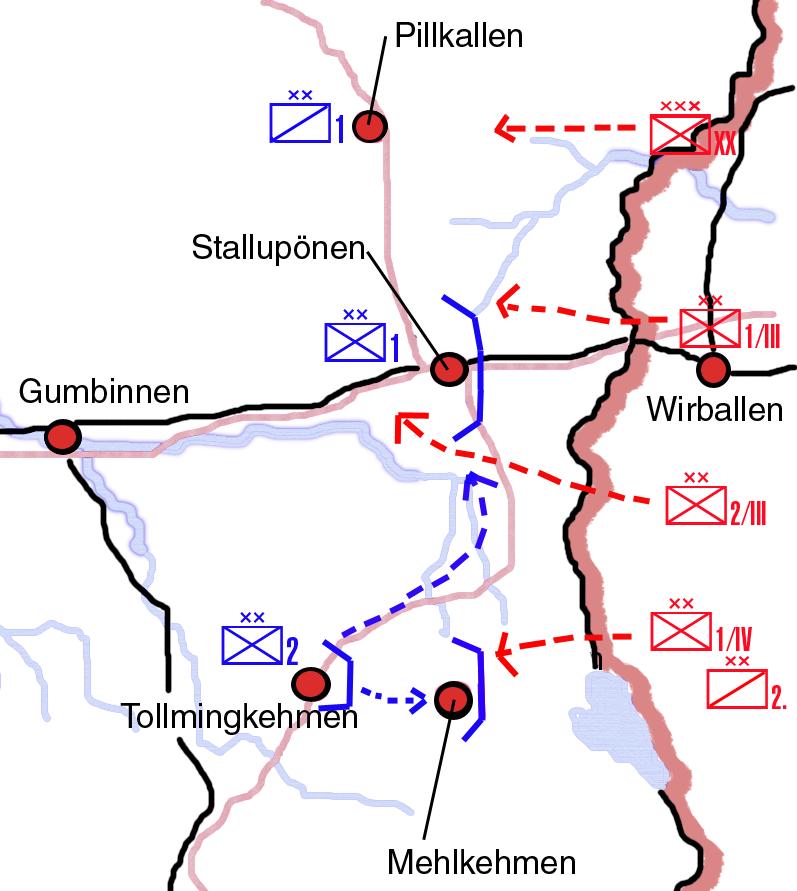 """20. august 1914. Slaget ved Gumbinnen: """"Rette sich, wer kann!"""""""