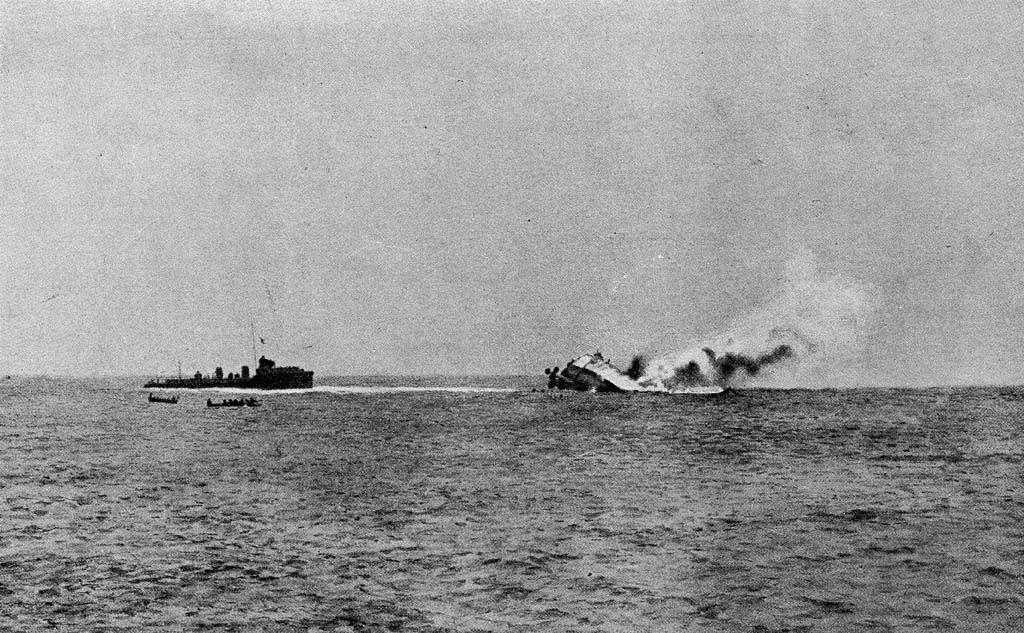 28. august 1914. Søtræfning ved Helgoland