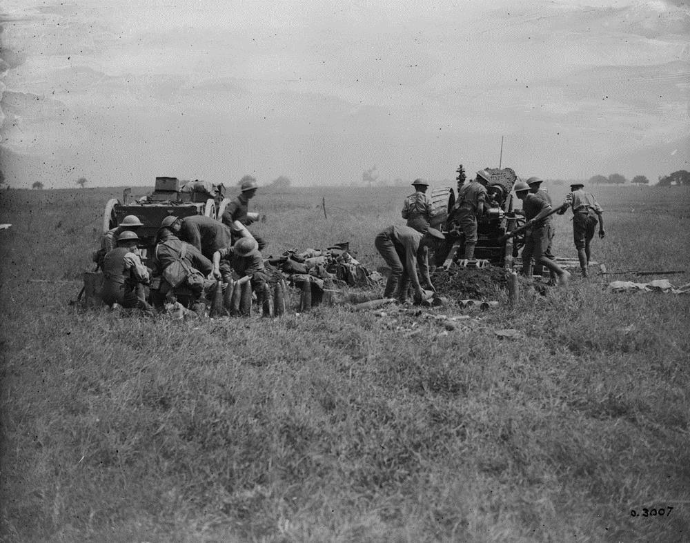 9. april 1917. Englænderne bryder igennem