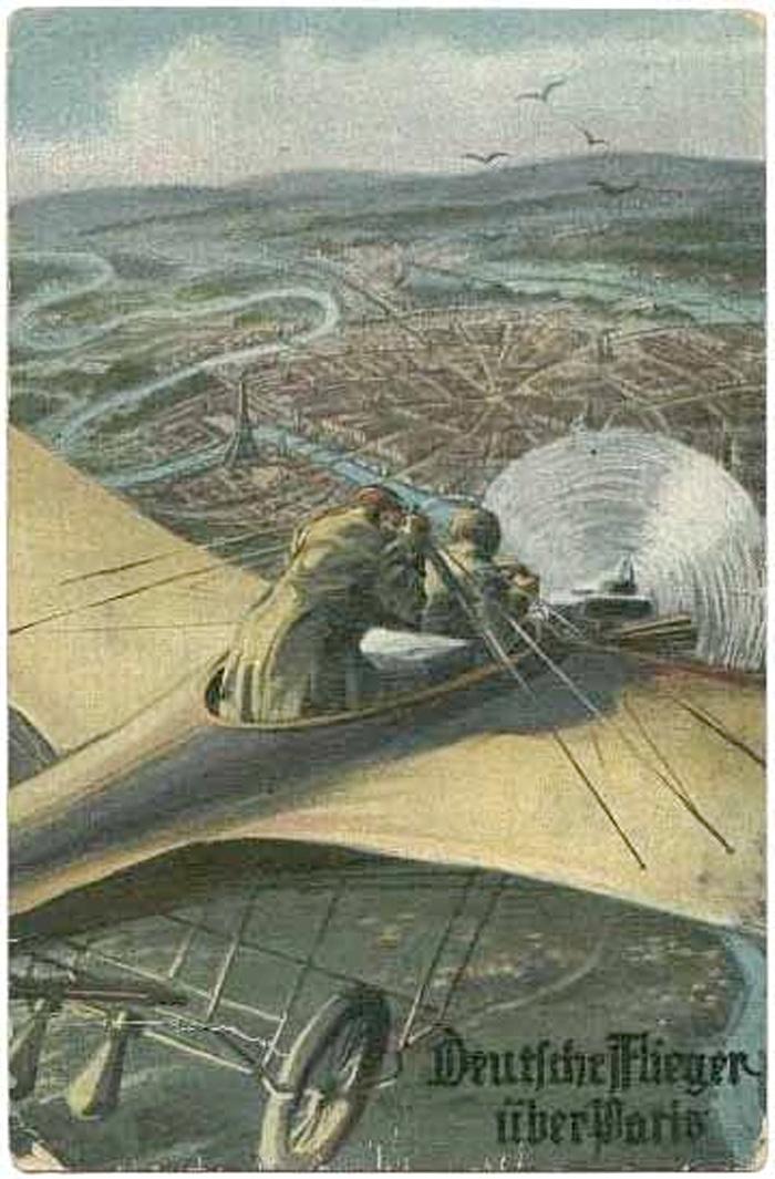 30. august 1914. Tyskerne tager mange fanger i øst og vest