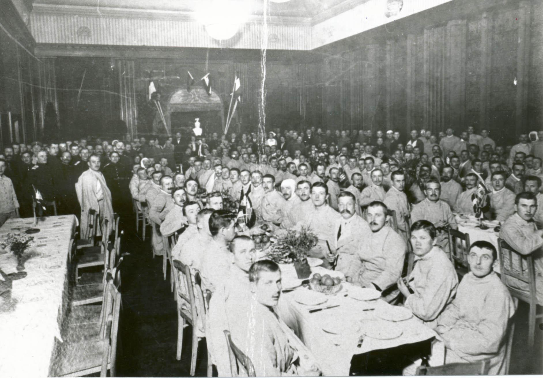 """31. august 1914. Jeppe Østergaard på lazarettet: """"Jeg har aldrig elsket livet højere end nu""""."""