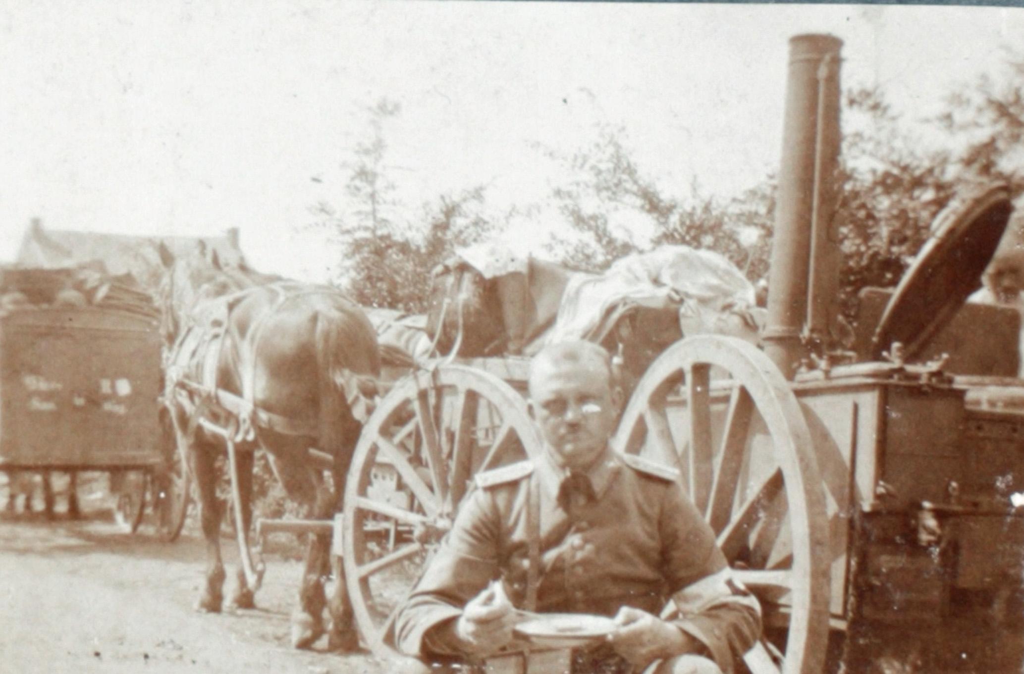 17. august 1914. Foran Tirlemont: Et sidste måltid før slaget?