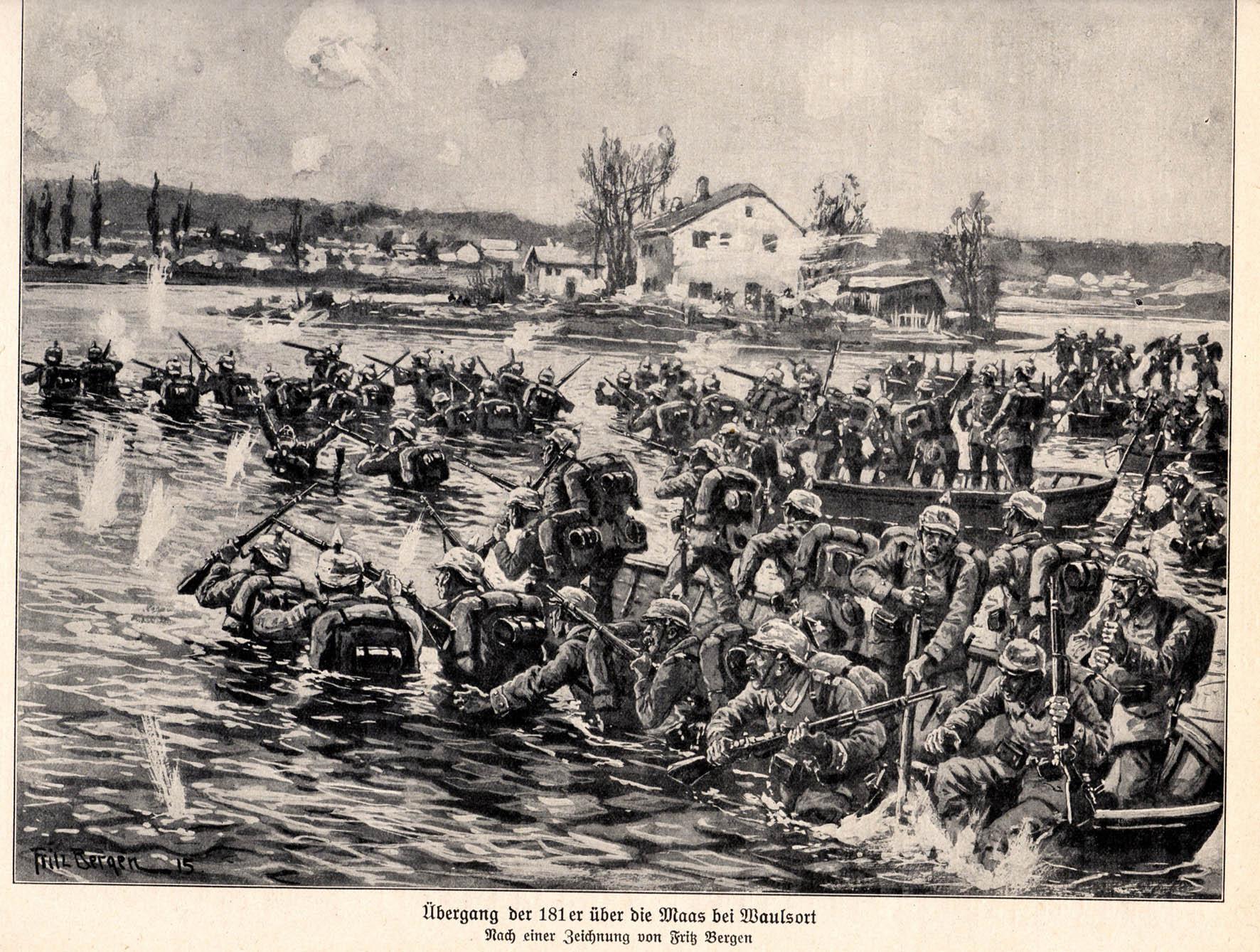 18. august 1914. Tirlemont – 86'ernes ilddåb