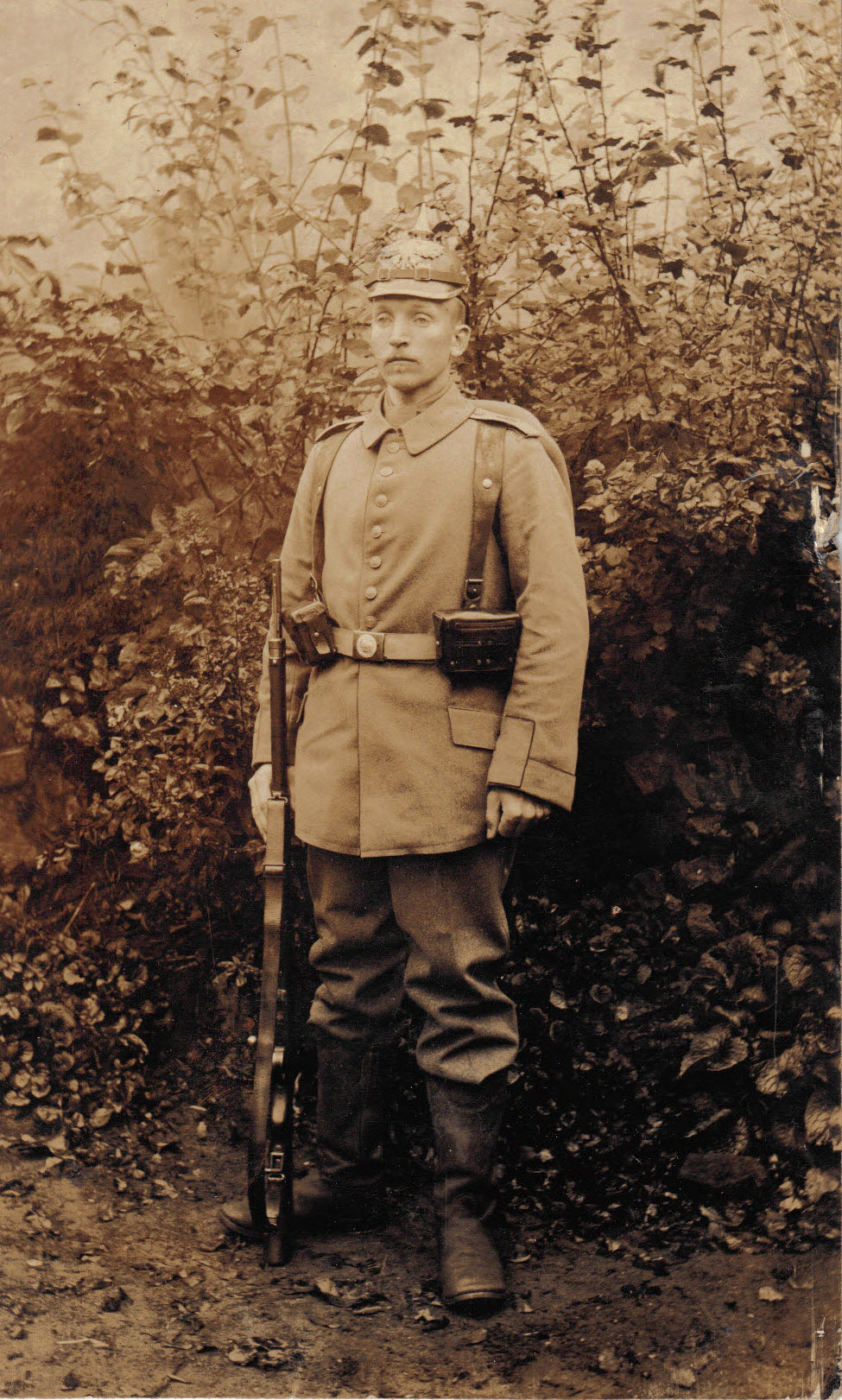 28. januar 1915. Forberedelser forud for vinterslaget ved Masuren