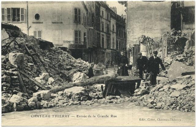 3. september 1914. Blodbad i Chateau Thierry: Fransk regiment udslettet!