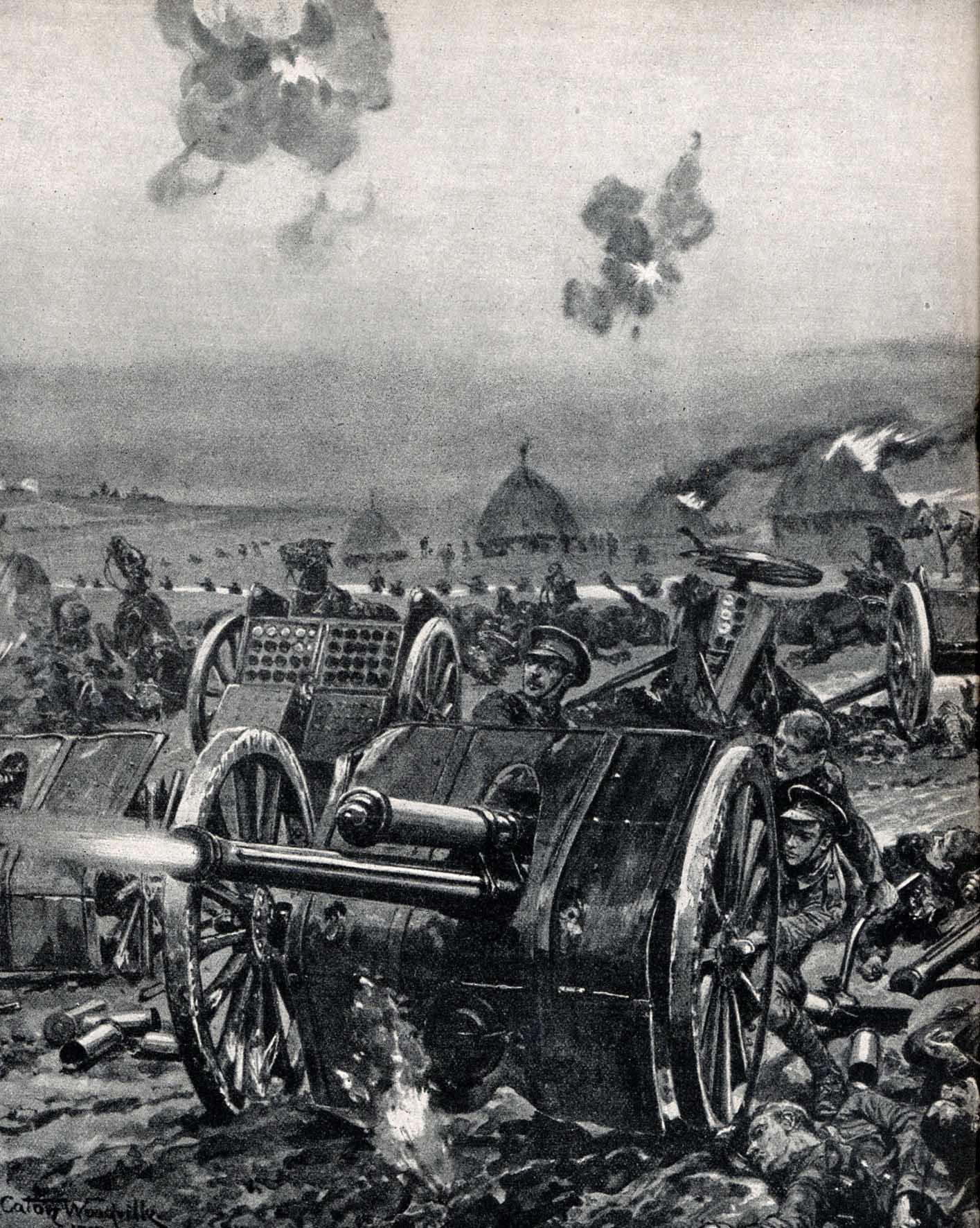 """6. september 1914. En 86'er ved Marne: """"Ned, ned i den hårde lerjord skulle vi!"""""""