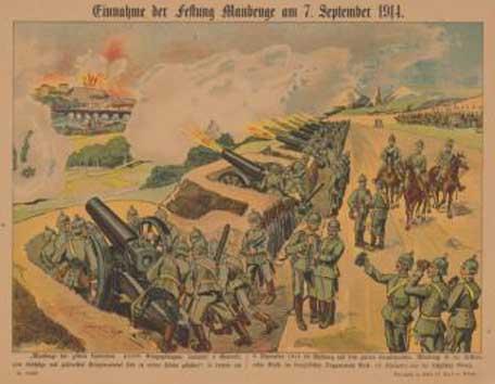 7. september 1914. Kampe på vestfront, østfront og i Afrika.
