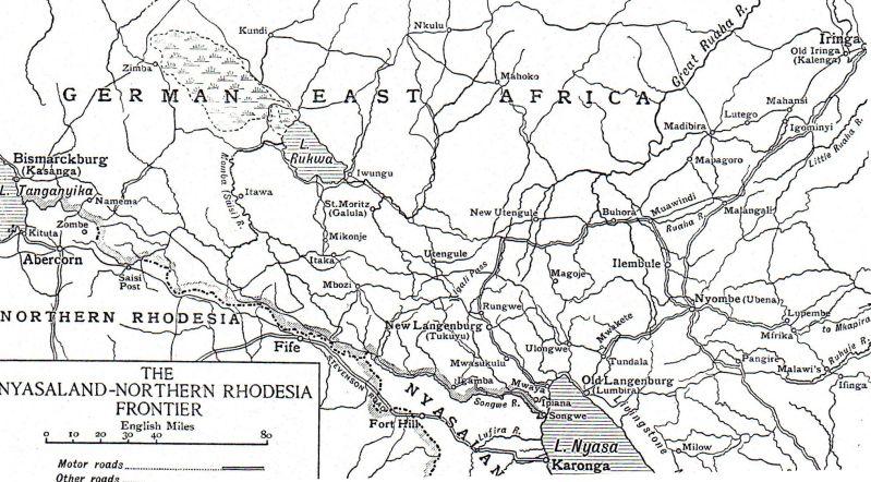 9. september 1914. Slaget ved Karonga, Østafrika