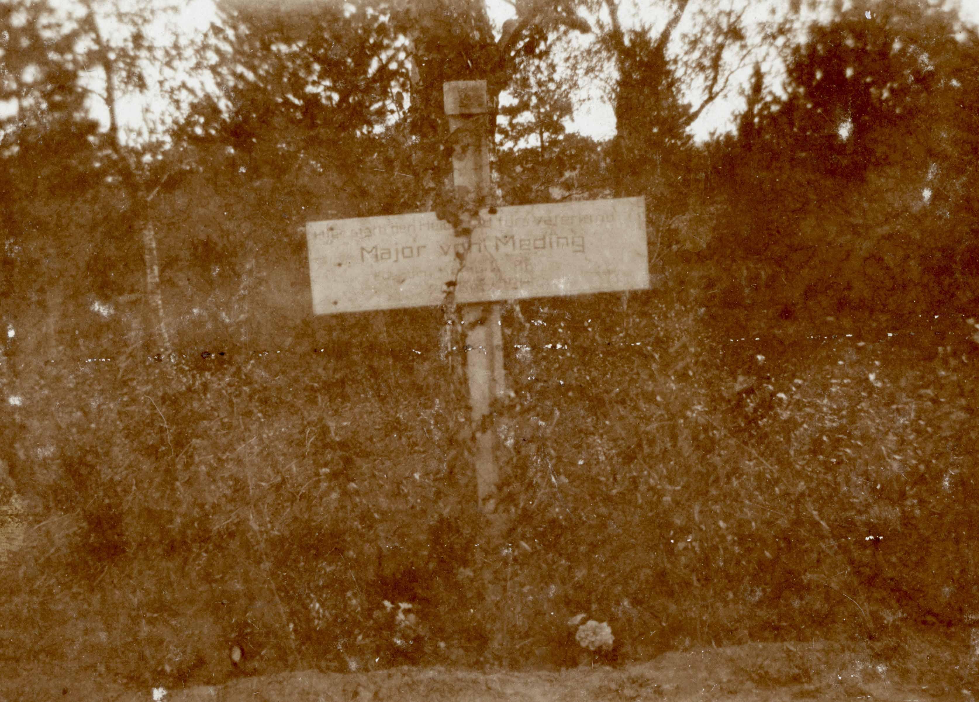 """24. september 1914. """"Ufredede og navnløse ligger de i fremmed Jord."""""""