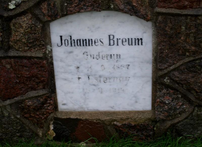 Mindesten, Egen Kirkegård