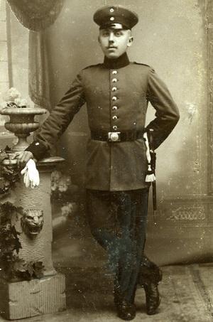 Lauritz Jensen (1888-1914), Ertebjerg.