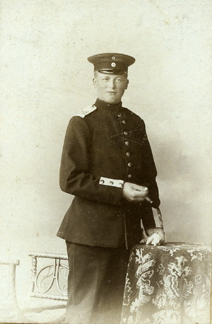 John Niclasson (1884-1914) Ulkebøl.