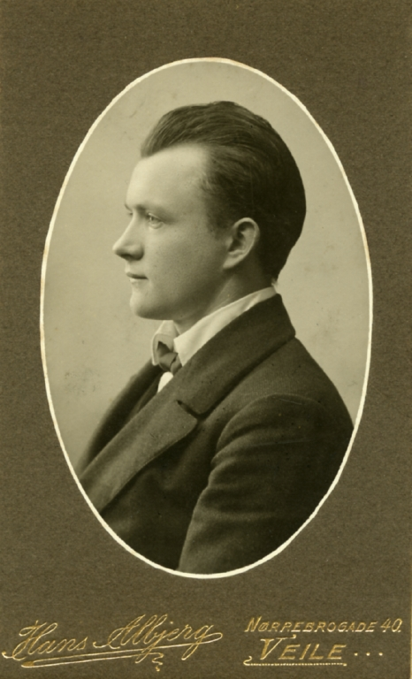 "10. januar 1915. ""Der ventes vist et større gennembrudsforsøg …"" Kresten Andresen ankommet til Soisson"